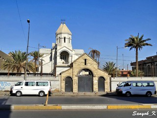 901 Baghdad Tayeran square Armenian Church Багдад Площадь Тайран Армянская церковь